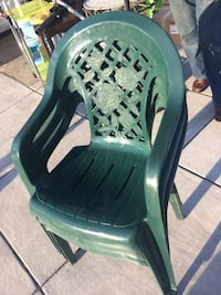 3 Green and black plastic armchair Washington, 20015