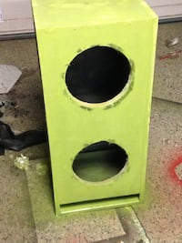 2 10 ported custom box. Painted to seal 20$ for carpet Petersburg, 23803