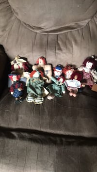 Raggedy Ann and Andy's 9 dolls I meet in Hagerstown  Hagerstown, 21740