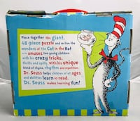Cat In The Hat 48-Piece Floor Puzzle. In Excellent Condition-preowned.