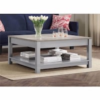 Grey Langley Bay Coffee Table-NEW IN BOX!