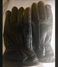 New! Black XL Thinsulate Leather Gloves Welland, L3C 4Z3
