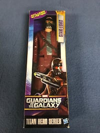 Marvel guardians of the galaxy star lord new in package  Lexington Park, 20619