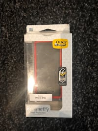 Black otter box iphone case 6 London, N6K