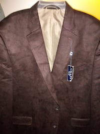 Brand new brown dress jacket extra large