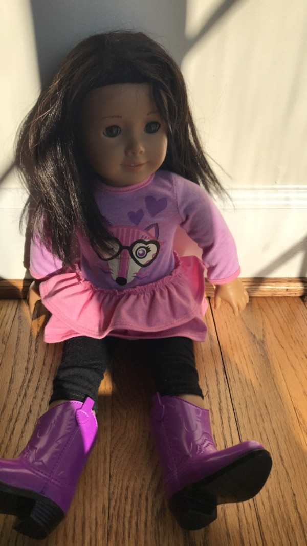 American girl doll + accessories and clothes
