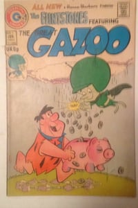 1974 Flinstones comic book