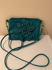 Small teal purse Oakville, L6L 4X4