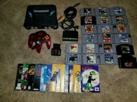 Nintendo 64 System, Controller, Hook Up, 20 Games+ Brantford, N3R 6A7