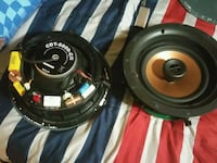two black-and-gray coaxial speakers Forsyth, 31029