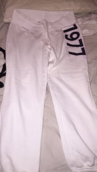 White and black american eagle sweat pants Laval, H7M 2T2