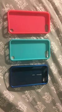 three red, green, and blue iPhone cases North Highlands, 95660