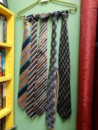 Ties $5 each Designer Ties Alfred Sung etc Vancouver, V5T 1X9