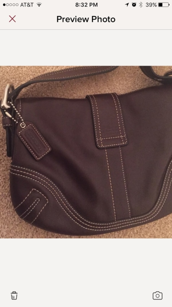 a68e0abce52b Used Soho Hampton Buckle Coach Bag! Perfect condition! for sale in ...