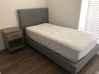 LIVING SPACES TWIN BED LIKE NEW