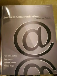 Business Communication Process and Product textbook