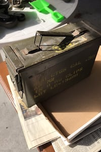 Storage box ammo military East Providence, 02914