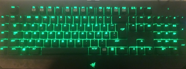Razer lancehead & Razer blackwidow ultimate 2014