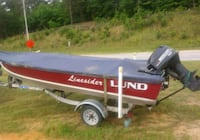 1989 Lund 40hp Mercury Fair Play, 29643
