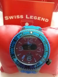 SWISS LEGEND MEN'S WATCH BLUE Toronto, M9V