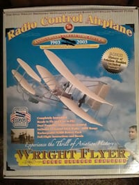 Remote control wright flyer
