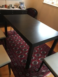 Ikea Dinning table and matching dinning cabinet Markham, L3T 5B2