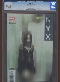 NYX 3 cgc 9.4 New wolverine Yonkers, 10710