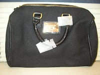 Victoria's Secret Black Canvus Hand Bag With Pink Lining, New, Never Used - See all 3 Pictures - PRICE REDUCED   Nassau County
