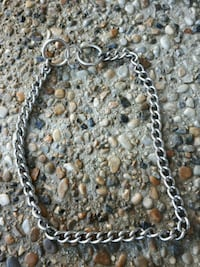 silver-colored chain necklace Edmonton, T6M 2T1