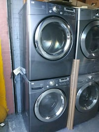 """LG 27"""" Front Load Washer and Gas Dryer Set  Bronx, 10469"""