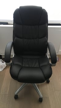 Black Leather Office Chair New York, 10016