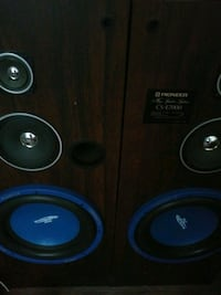 Stereo wall knockers come get them