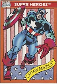 1990s Marvel Cards