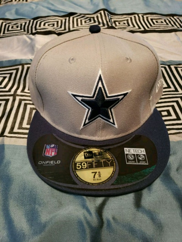 bce56b667397d Used Brand new blue and gray Dallas Cowboys cap for sale in Fort Worth