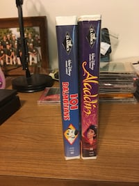 2 Black diamond Disney tapes both are like new One dollar for both Green Bay, 54302