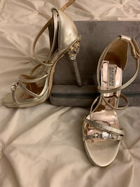 Gold Badgley Mischka Shoes Oakville, L6L 4X4