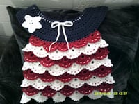 Red White Blue Hand made Shirt size 3/4 T  Phoenix