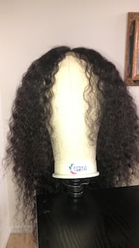 24in Water Wave Lace Frontal Wig  Dumfries, 22026