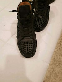 pair of black Nike high-top sneakers Beltsville, 20705