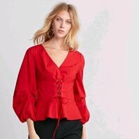 Red Express Corset Front Top Houston, 77080