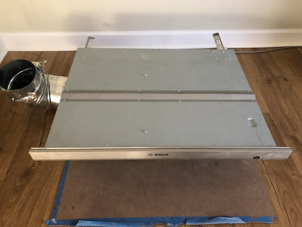 """30"""" bosch stainless steel downdraft exhaust system"""