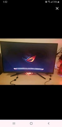 """Asus ROG Strix XG32VQ 31.5"""" Screen LCD Monitor price is firm"""
