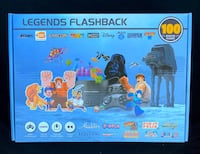 """NEW - """"Legends Flashback"""", HDMI Game Console w/ 100 Built-In Games"""