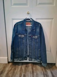 Levi Men's Denim Trucker Jacket - Mens Large