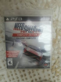 Need for speed ps3 oyunu