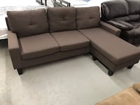 Brand new brown fabric sectional sofa warehouse sale  多伦多, M1S 1R7