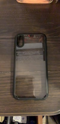 black and clear iPhone X case Dix Hills, 11746