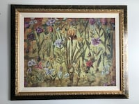 Brown wooden framed painting Laval, H7G 3G6