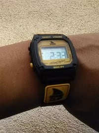 black and yellow digital watch Albuquerque, 87106