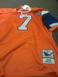 orange and white NFL jersey Colorado Springs, 80909